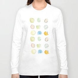 Abstract dots  Long Sleeve T-shirt