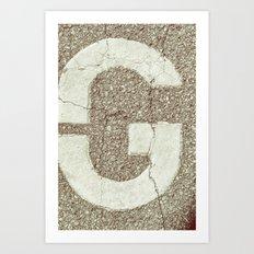 GGGG Art Print