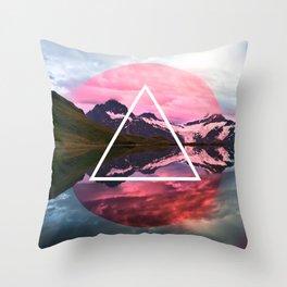 Wanderlust Lake Throw Pillow