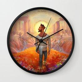 jon bellion album 2020 dede1 Wall Clock