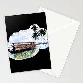 Kerala House Boat - 204 Stationery Cards