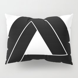 Penrose Triangle - Optical Illusion Pillow Sham
