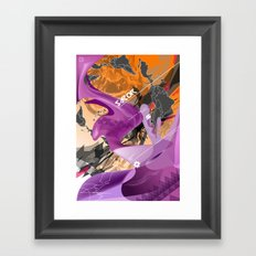 Sabor Latina Framed Art Print