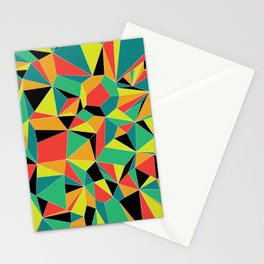 Faceted Kaleidescope Stationery Cards