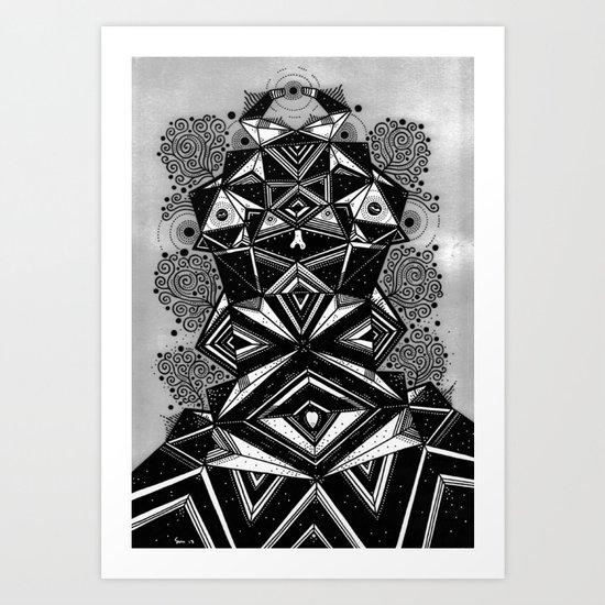 ANGLEMAN Art Print