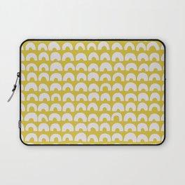 Ceylon Yellow & Half Circles Laptop Sleeve