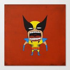 Screaming Wolverine Canvas Print