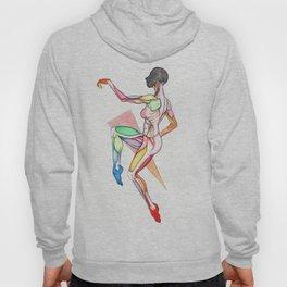 Starliner, female dancer anatomy, NYC artist Hoody