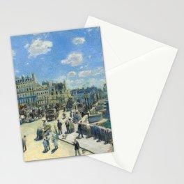 Renoir - Pont Neuf, Paris, 1872 Stationery Cards