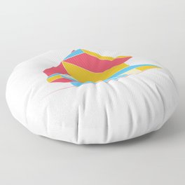 Rem Koolhaas - Seattle Central Library Floor Pillow