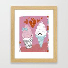 Sweet Love Framed Art Print