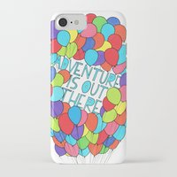 adventure is out there iPhone & iPod Cases featuring Adventure by Prince Arora
