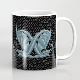 Dragon Letter X, from Dracoserific a font full of Dragons Coffee Mug