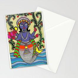 Matsya Avatar of the Hindu God Vishnu Stationery Cards