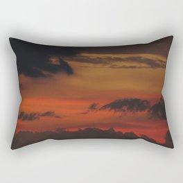 A Sky On Fire - 2 Rectangular Pillow