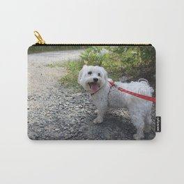 Puppy Going for a Hike Carry-All Pouch