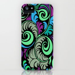 Floral Pattern - 1 iPhone Case