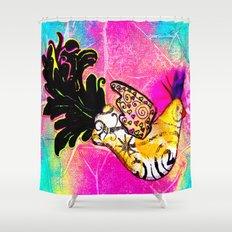 Fancy Bird Shower Curtain