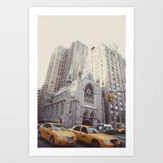 rush::nyc Art Print