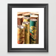 For a more formal experience Framed Art Print