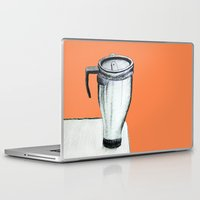 coffee Laptop & iPad Skins featuring Coffee  by Brontosaurus