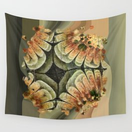 Annexation Constitution Flowers  ID:16165-142226-92271 Wall Tapestry