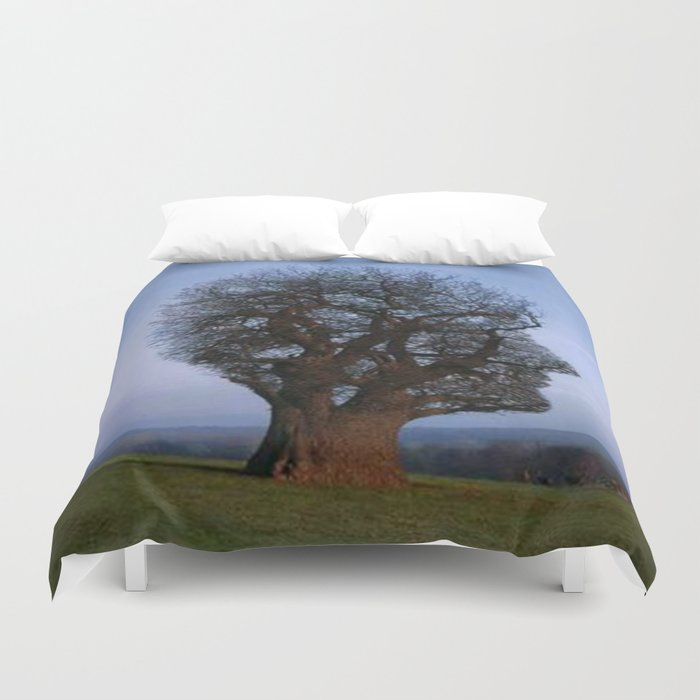 HEAD TREE Duvet Cover