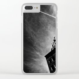 Lowell Clear iPhone Case
