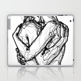 second hug Laptop & iPad Skin
