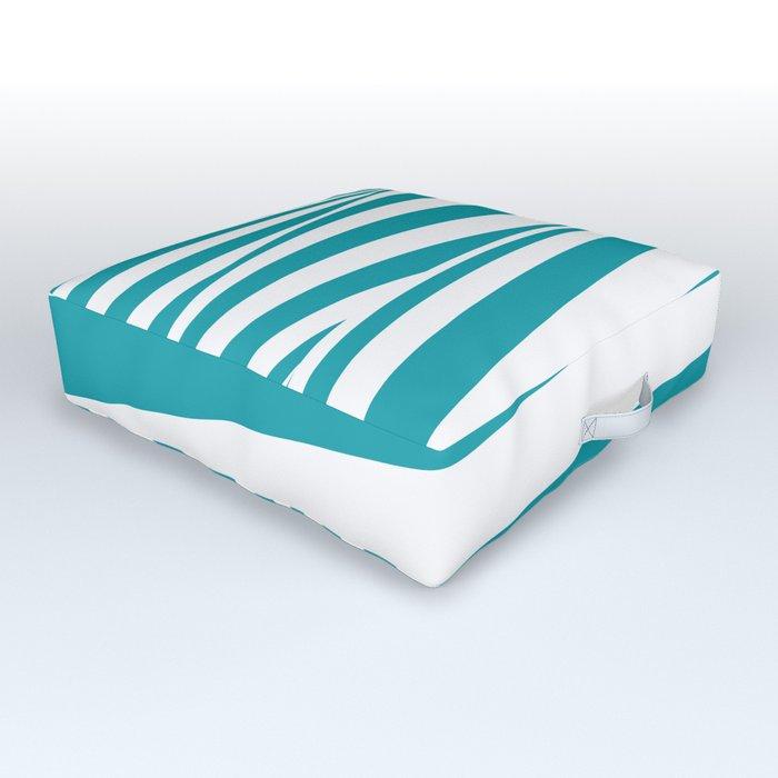 Waving stripes Outdoor Floor Cushion