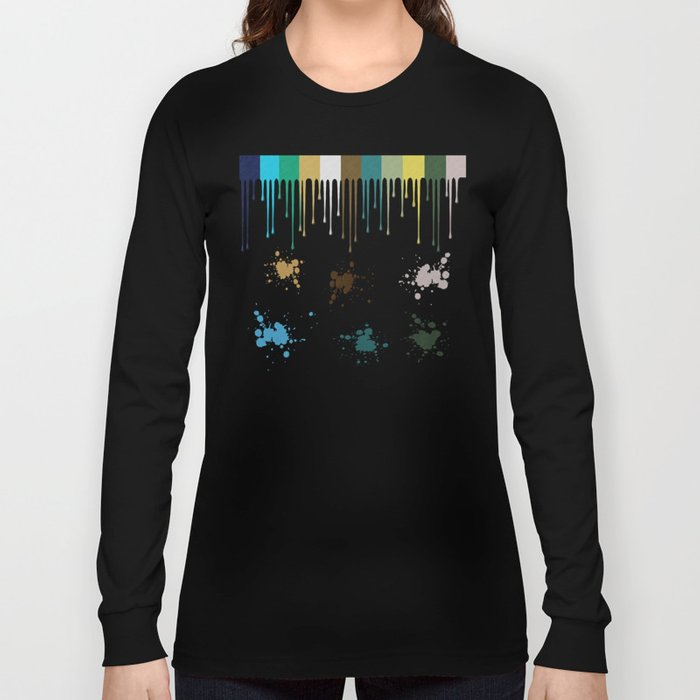 Messy Painter Long Sleeve T-shirt