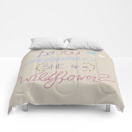 Are you a Wildflower? Comforters
