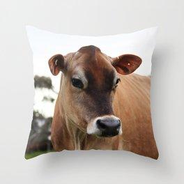 Jersey Portrait Throw Pillow