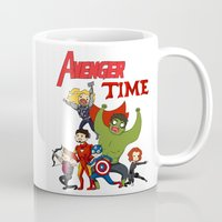avenger Mugs featuring Avenger Time! Ver 2 by ArtisticCole