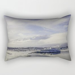 Glacial Lagoon 04 Rectangular Pillow