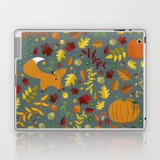 Fox In The Leaves Laptop & iPad Skin