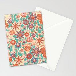 Motivo floral 2 Stationery Cards