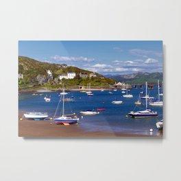 Barmouth Harbour Metal Print