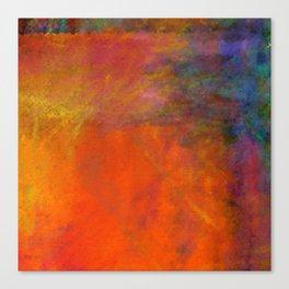 Orange Study #2 Digital Painting Canvas Print