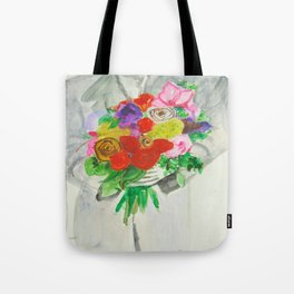 The Peace Bouquet Tote Bag