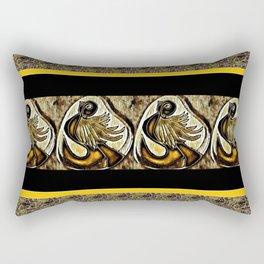 Cabsink17DesignerPatternBIN Rectangular Pillow