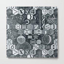 Math Class Metal Print