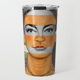 """""""Self Portrait with Thorn Necklace"""" & Joan Crawford Travel Mug"""