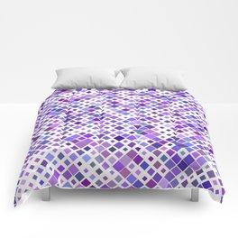Purple Squared Comforters