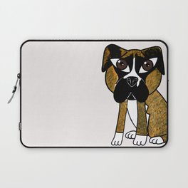 Greta, the dog that stares at you Laptop Sleeve