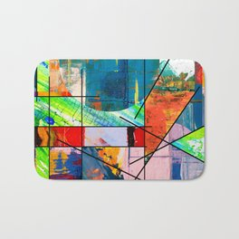 Escape Reality - Abstract Expressionism Bath Mat