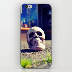 Sidewalk skull iPhone & iPod Skin