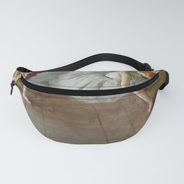 Two Ballet Dancers By Edgar Degas | Reproduction | Famous French Painter Fanny Pack
