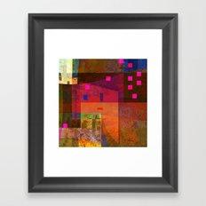 worries 3a det Framed Art Print