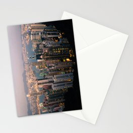 Hong Kong (Sunset over Victoria's Peak) Stationery Cards